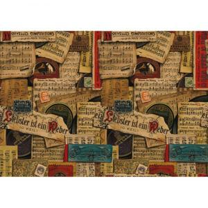 Χαρτί - Music Notes - 70x100cm