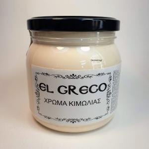 Χρώμα Κιμωλίας Pale Yellow 500 ml El Greco