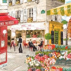 Χαρτοπετσέτα για Decoupage rues de paris