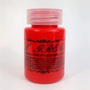 Ακρυλικά χρώματα professional multi – υβριδικά Red Light Cadmium 60 ml  El Greco