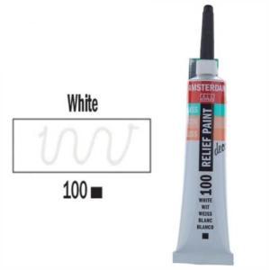 3d Relief Decorfin 20ml 100 White