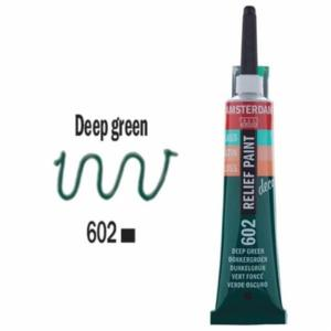 3d Relief Decorfin 20ml 602 Deep Green