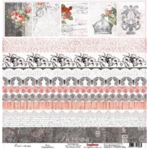 Χαρτί Scrapbooking One Side 30.5x30.5cm 180gsm