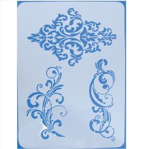 Stencil Baroque 21x30cm
