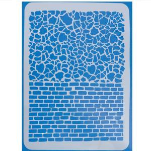 Stencil Τούβλα 21x30cm
