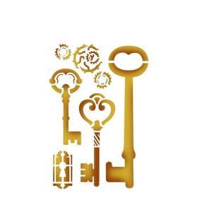 Στενσιλ διακοσμητικό keys 15x20 Stamperia