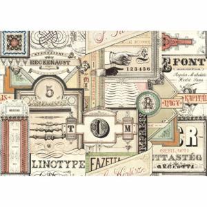 Χαρτί - Typography- 70x100cm