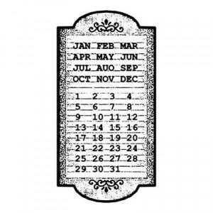 Σφραγίδα HD Calendar