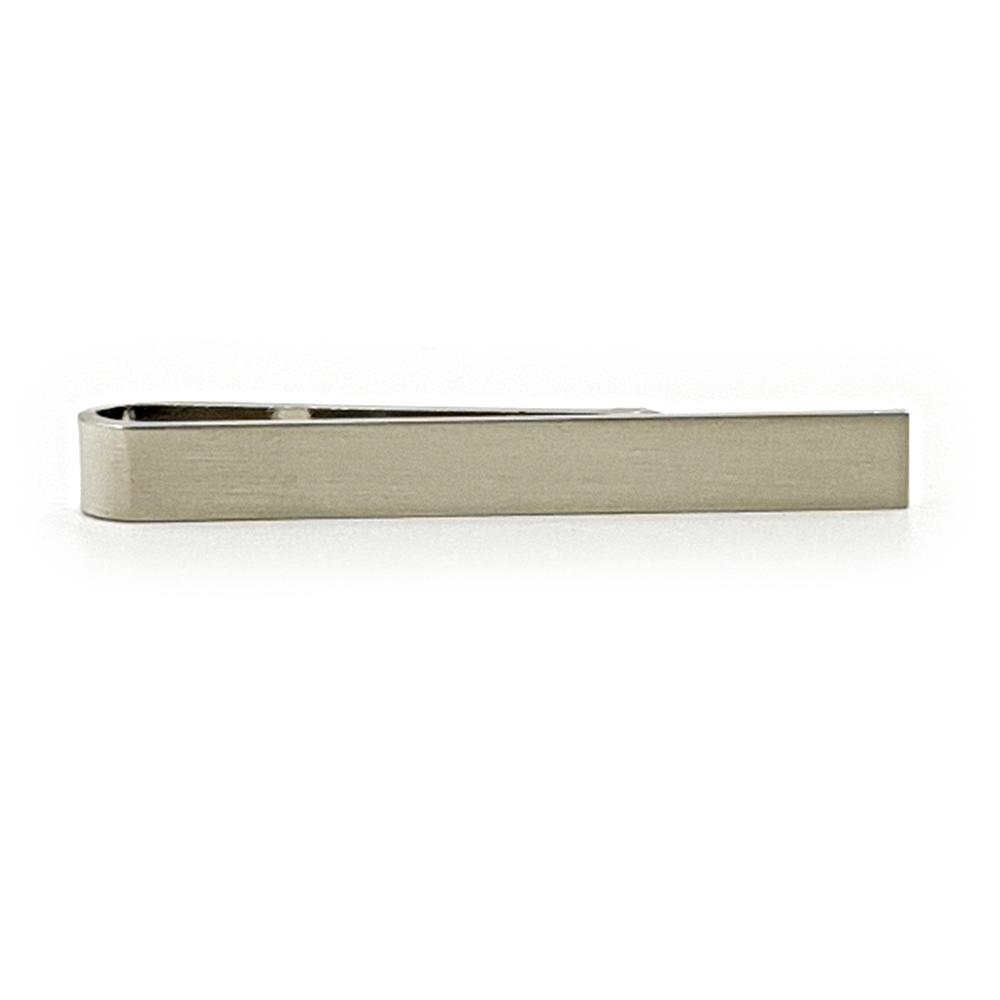 Silver Slim Tie Clip