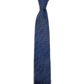 Blue Melange Fatto a Mano Tie