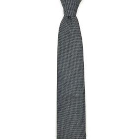 Grey Melange Fatto a Mano Tie