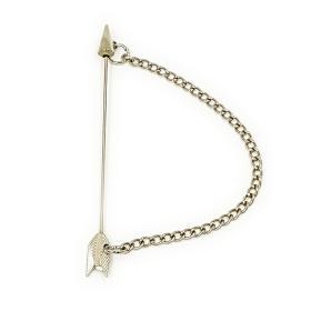 Silver Arrow Lapel Pin