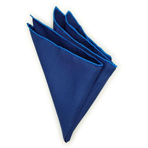 Dark Blue Contrasting Edge Pochette