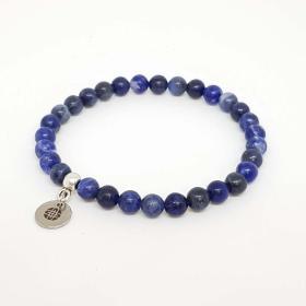 Blue Sodalite Elastic Bracelet (6mm)
