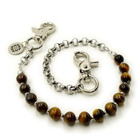 Brown Tiger Eye Chain