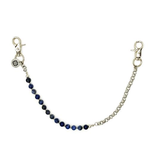 Blue Beads Trouser Chain