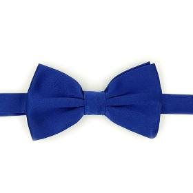 Royal Blue Silk Bow Tie