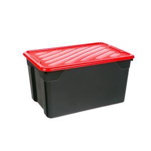 Κουτί Αποθήκευσης Homeplast Nak 67lt  Μαύρο 60x40x31cm Α00411