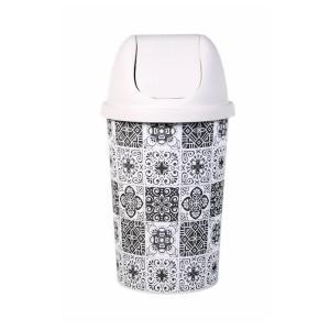 Κάδος αποριμμάτων πλαστικός 50Lt Retro Homeplast Α00604