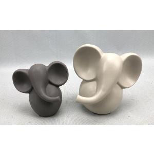 Ελέφαντες (13 & 17cm) K962728/BG ΣΕΤ 2τεμ. Oriana Ferelli