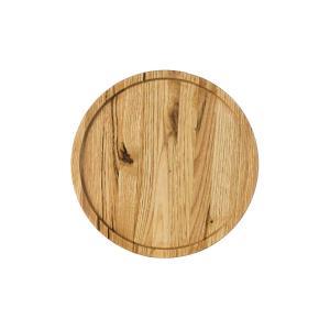 Ξύλινο πιάτο καστανιάς Φ25 σκαμμένο Rozos ΚΑΣ-020301
