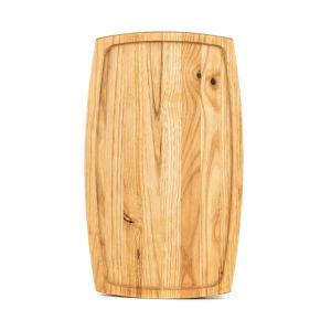 Ξύλινο πιάτο καστανιάς 38×22 σκαμμένο ΚΑΣ-020303 Rozos