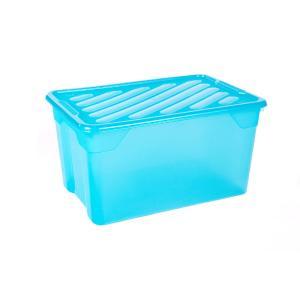 Κουτί Αποθήκευσης Βαθύ 67lt με Καπάκι 60Χ40Χ31εκ Α00299 Homeplast