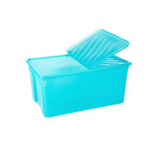 Κουτί Αποθήκευσης 92lt με Καπάκι 70Χ46Χ31εκ Α00562 Homeplast