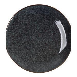 Πιάτο Στρογγυλό Μωβ 21εκ Midnight Blue Espiel LIS303K6