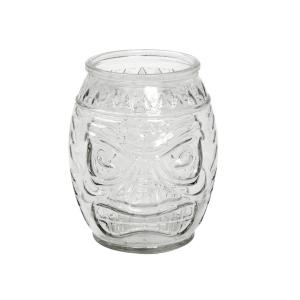 Ποτήρι Διάφανο Σκαλιστό Γυάλινο 600ml Espiel   9.5X12.5cm INT8911K6
