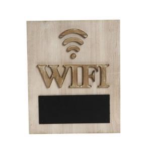 Ταμπελάκι Wi-Fi Με Μαύρο Πίνακα Espiel GAD111