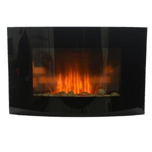 Τζάκι Hλεκτρικό Επιτοίχιο με φλόγα Led και Αερόθερμο 88,5x13,5x56cm 480890 Kaemingk
