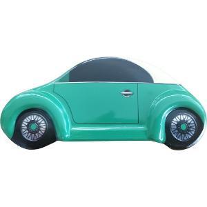 Αμαξάκι Μεταλλικό Πράσινο 11,50Χ3,8Χ5εκ JK Decorations 000.782
