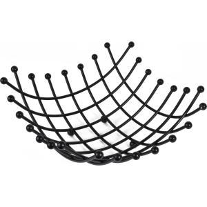Φρουτιέρα Μεταλλική Μαύρο 29.9x29.9x13cm Estia  01-5672