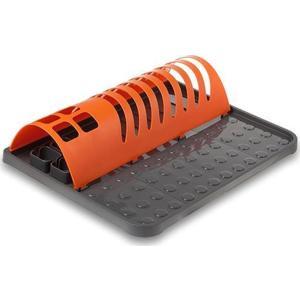 Πλαστική Πιατοθήκη Πορτοκαλί 45,5x34,5x9cm Nava 10-014-040