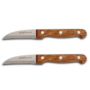 Ανοξείδωτο ατσάλινο μαχαίρι ξεφλουδίσματος σετ 2τεμ 17cm Terrestrial Nava 10-058-049