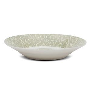 Πιάτο Βαθύ πορσελάνινο 20.5cm Maiolica Green Nava 10-099-113