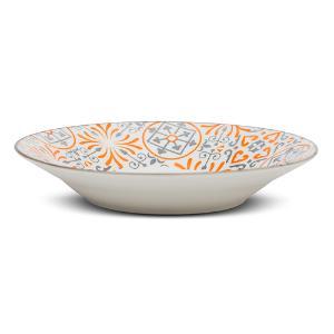 Πιάτο Βαθύ Maiolica Orange Στρογγυλό Nava 20.5cm 10-099-133
