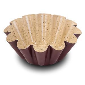 """Φόρμα κέικ """"Terrestrial"""" με αντικολλητική κεραμική επίστρωση 23cm Nava 10-103-049"""