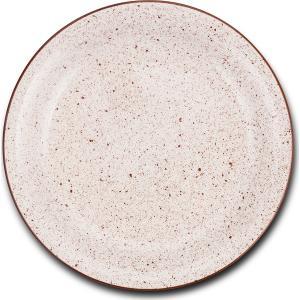 Πιάτο Ρηχό Dot Λευκό Στρογγυλό 26.5cm Nava 10-141-110