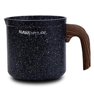 Γαλατιέρα με αντικολλητική επίστρωση stone 11cm Nature Nava 10-144-123