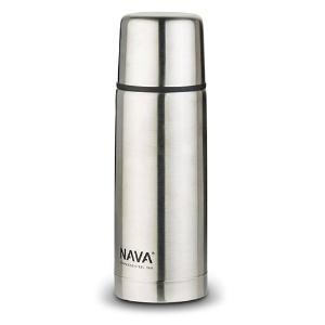 Θερμός Ανοξείδωτο με Βαλβίδα και Καπάκι-Ποτήρι 0.35lt Nava 10-146-001