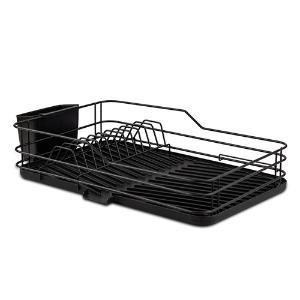 Μεταλλική πιατοθήκη μαύρη 43cm Misty Nava 10-186-101