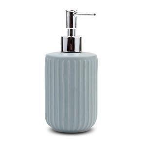 Ντισπένσερ μπάνιου stoneware μπλε 18cm Nava10-222-001