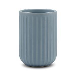 Θήκη για οδοντόβουρτσες stoneware μπλε 11cm Nava 10-222-002