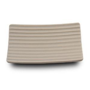 Σαπουνοθήκη stoneware μπεζ 2.7x13x10cm Nava 10-222-012