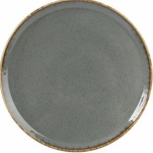 Πιάτο Πορσελάνη Ρηχό Σκούρο Γκρι 20cm Seasons Porland 162920DG