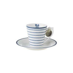 Espresso Φλιτζανάκι με πιατάκι Candy Stripe Blueprint Laura Ashley LA178692