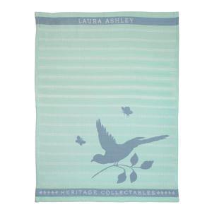 Πετσέτα τσαγιού Mint Bird Heritage Laura Ashley 180800