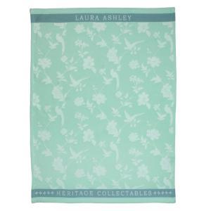 Πετσέτα τσαγιού Mint Flowers Heritage Laura Ashley 180805